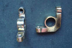 Stair rod brackets