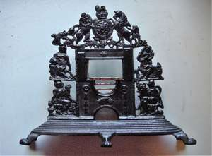 Early 19th century miniature fireplace