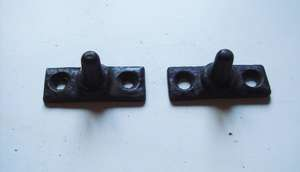 Vintage Window stay pegs