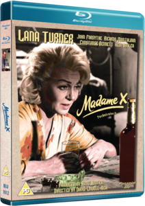 Madame X 1966 Lana Turner Blu-ray
