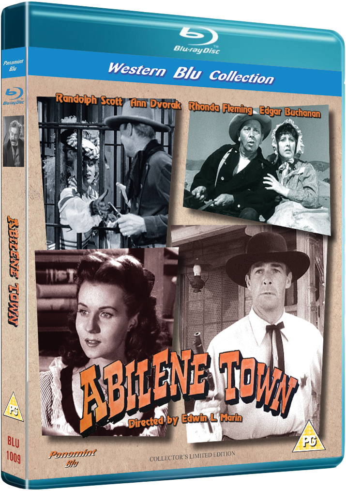 Abilene Town Blu-ray available in a pristine HD transfer for the first time.