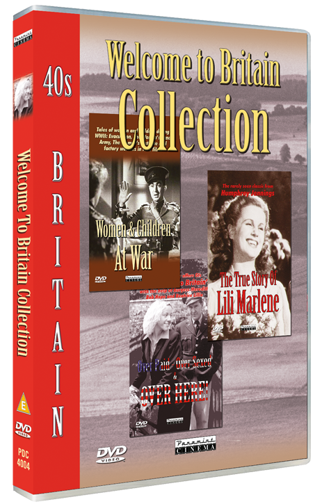 Welcome to Britain Collection DVD