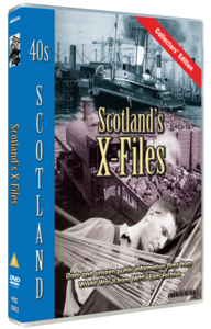 Scotland's X-Files Second World War DVD