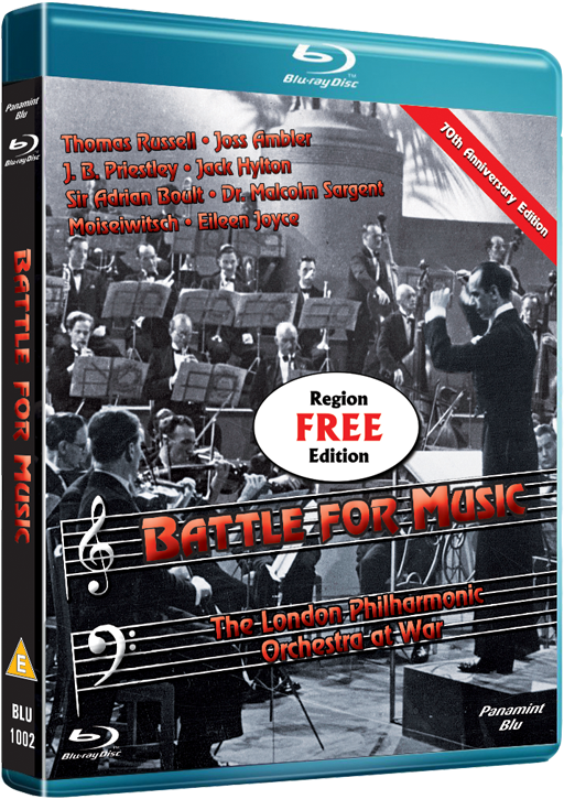 Battle for Music 1943 Blu-ray