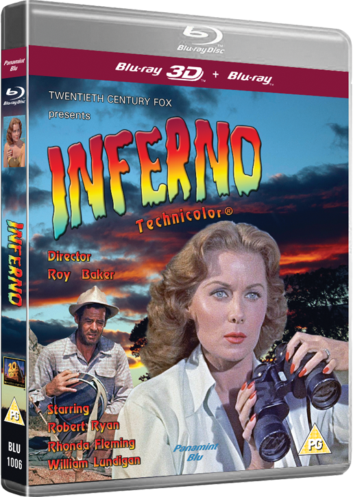 Inferno 3D: Starring Robert Ryan and Rhonda Fleming