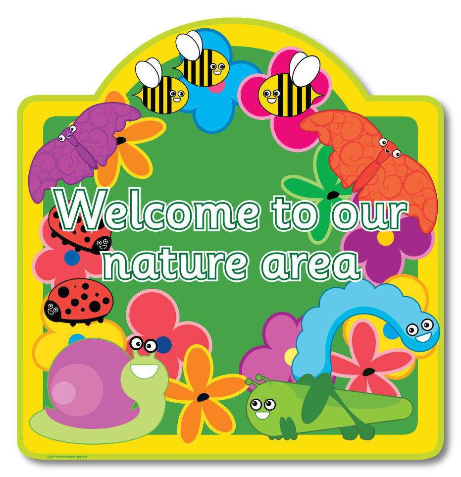 Nature Welcome Signs