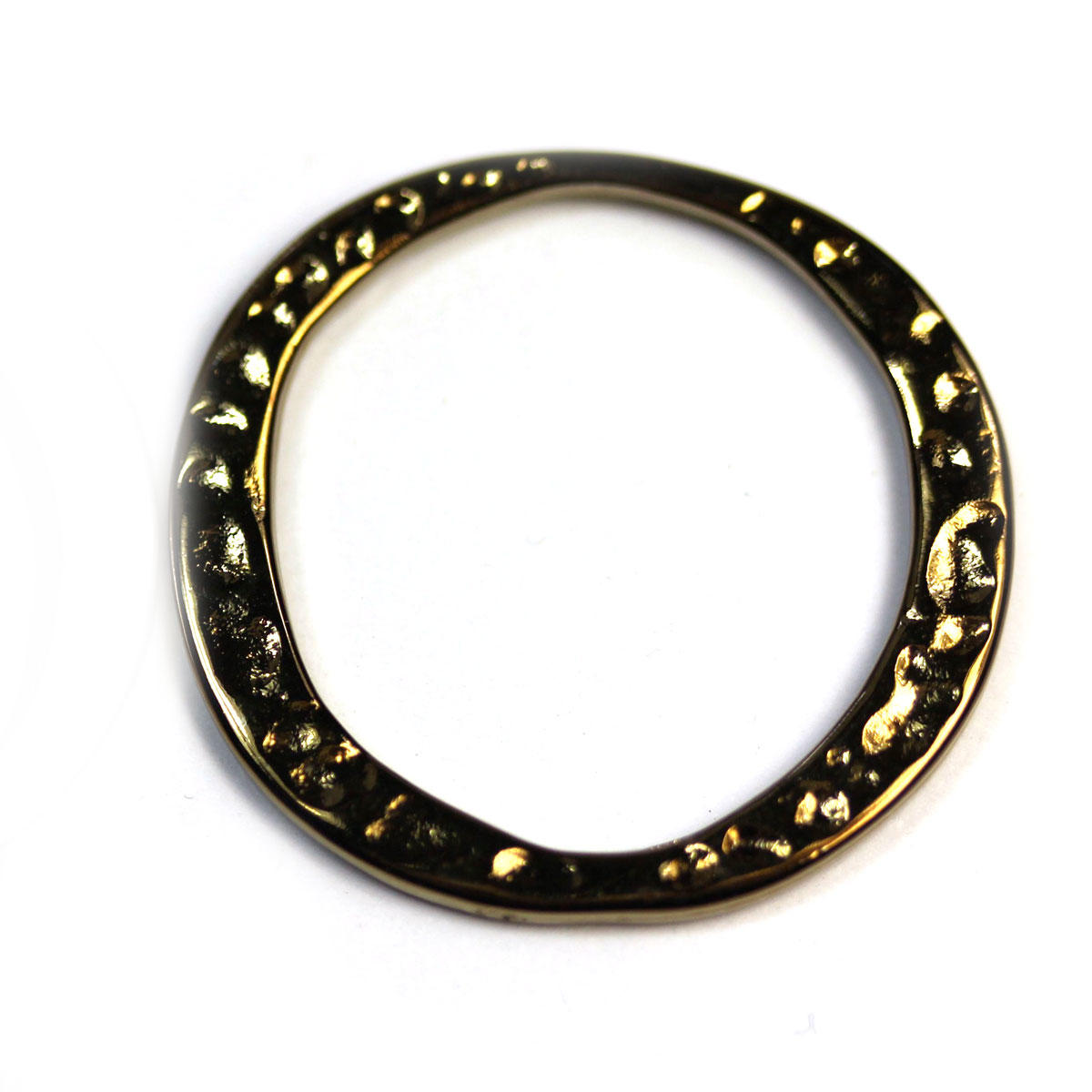 Bronze Tunisian Ring Charm