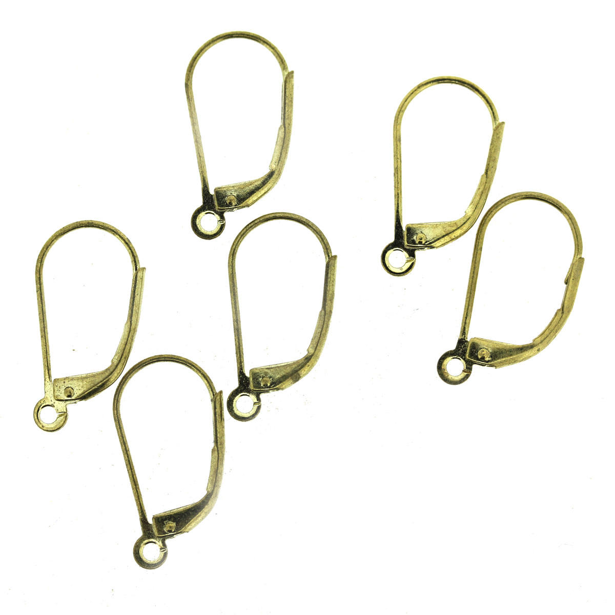 Gold Eurowire Earring Finding