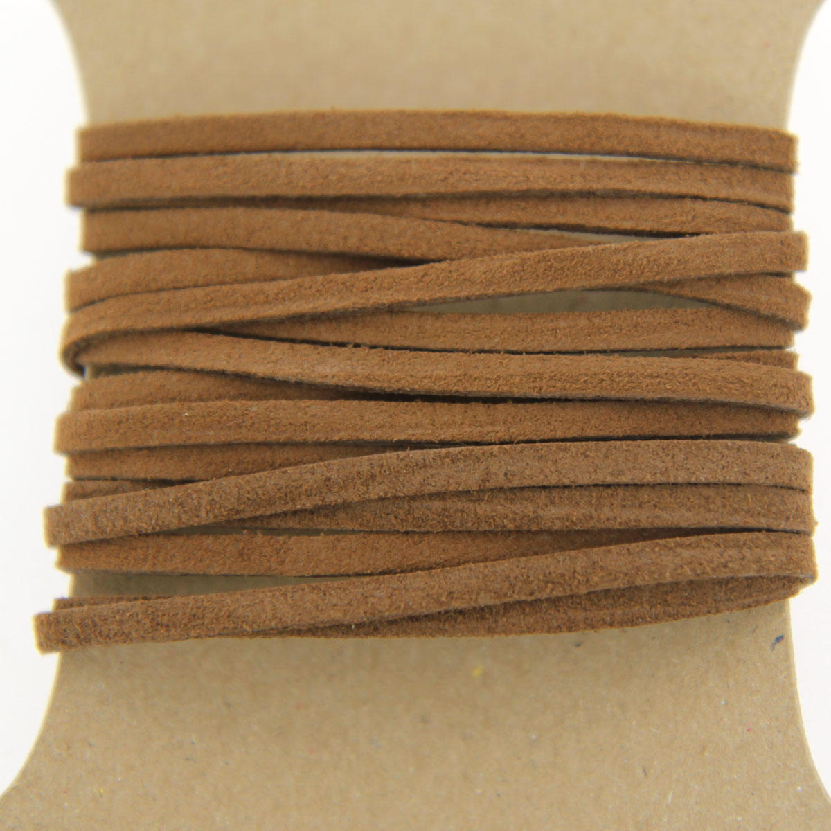 Brown 3mm Faux Suede Cord
