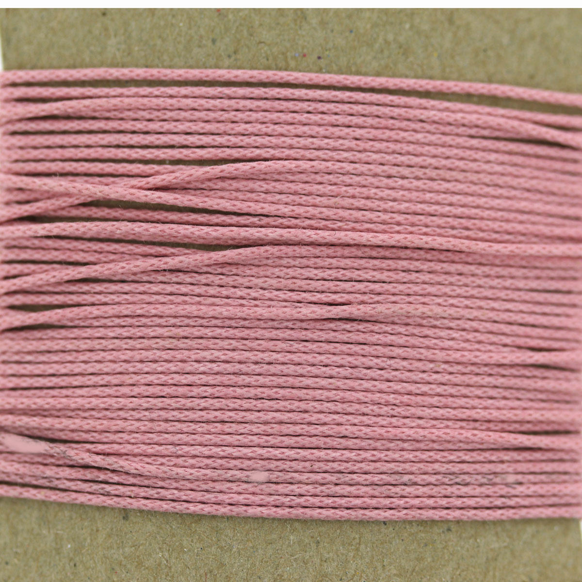 Light Pink Thin Cotton Bead Cord