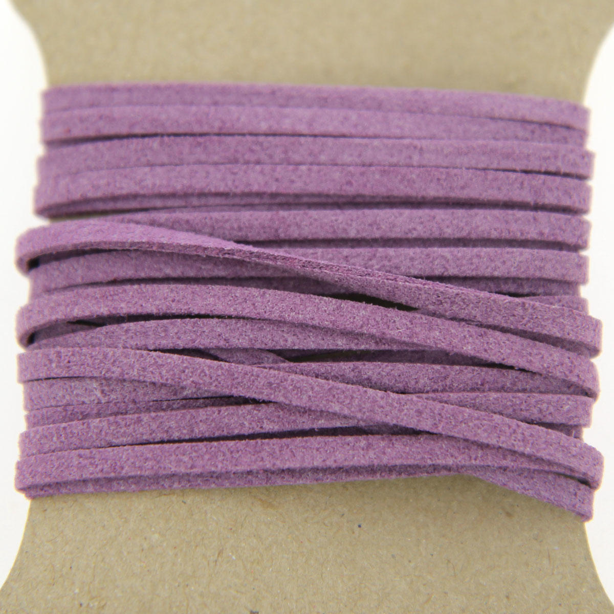 Purple Faux Suede Jewellery Cord