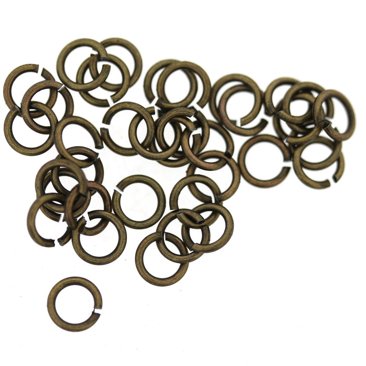 Antique Gold Tiny 4mm Jump-rings