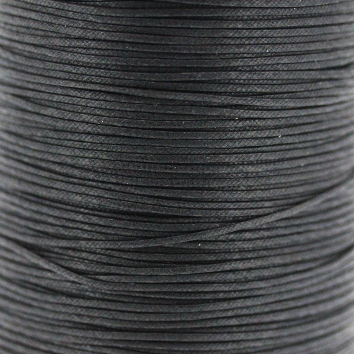 Black 1.5mm Cotton Bead Cord