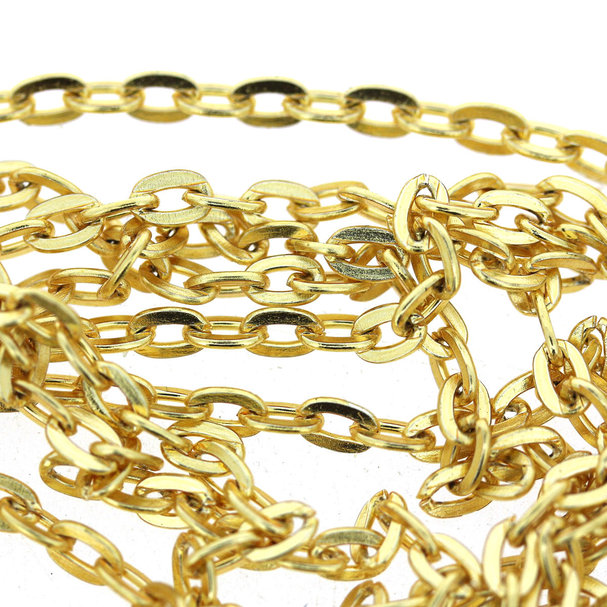 Gold Cable Steel Chain 4/3mm