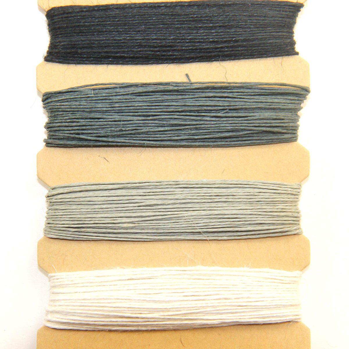 Hemp Cords - Onyx Colours