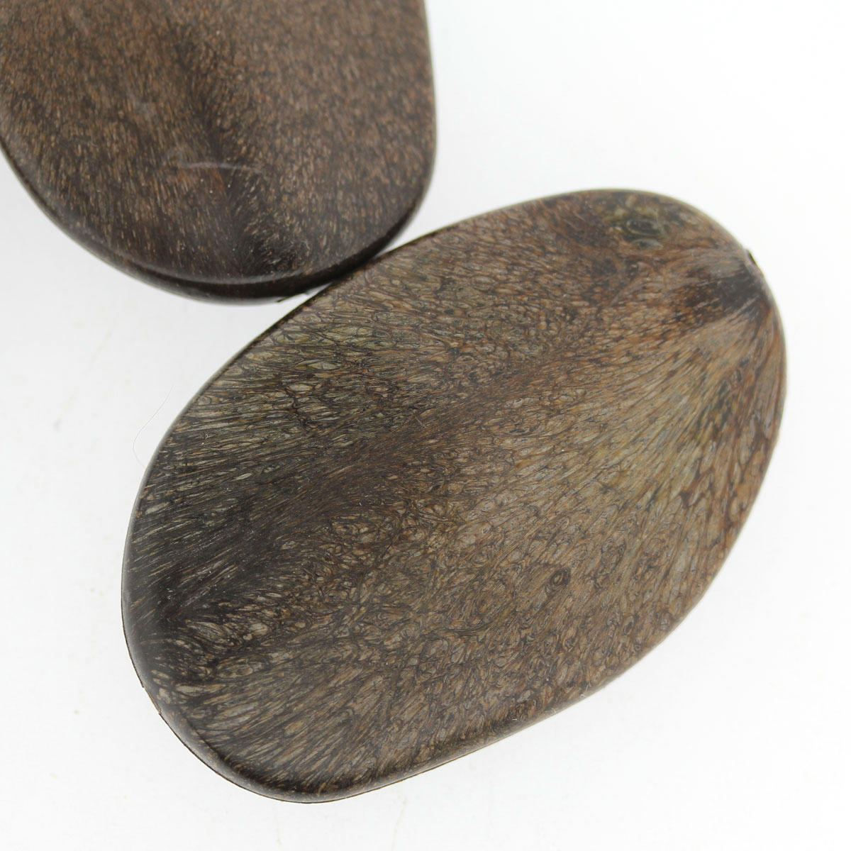 Wood Irregular Large Acrylic Plane Bead
