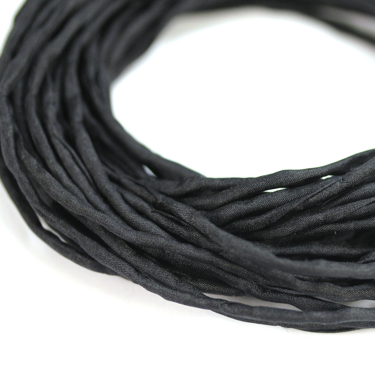 Silk String Black