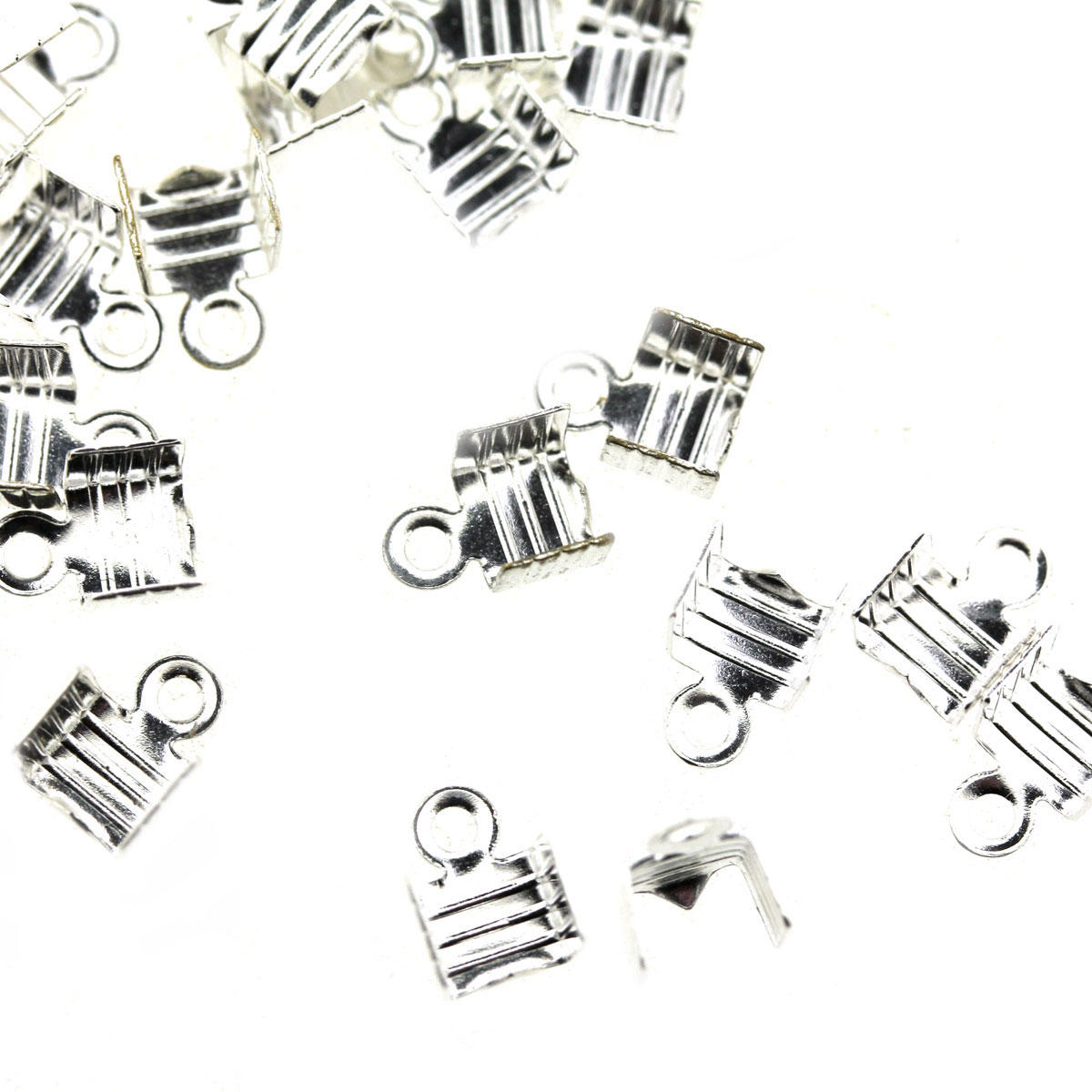 Silver Medium Folding Crimp