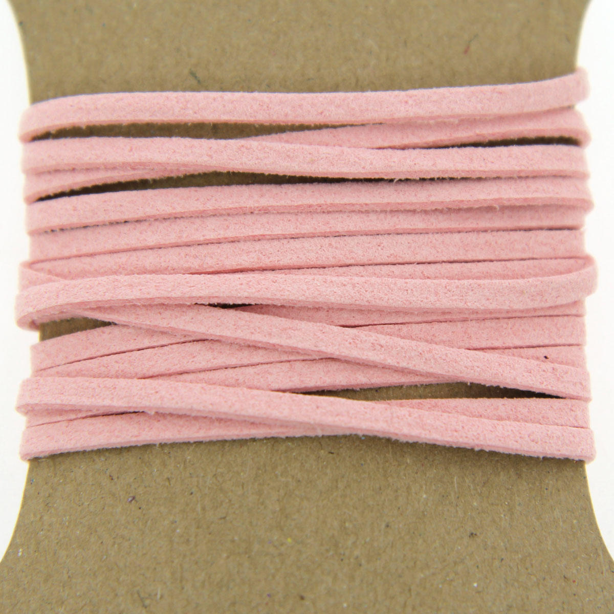 Light Pink Faux Suede Jewellery Cord