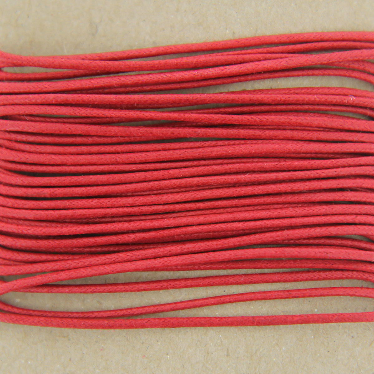 Red Thick Cotton Bead Cord