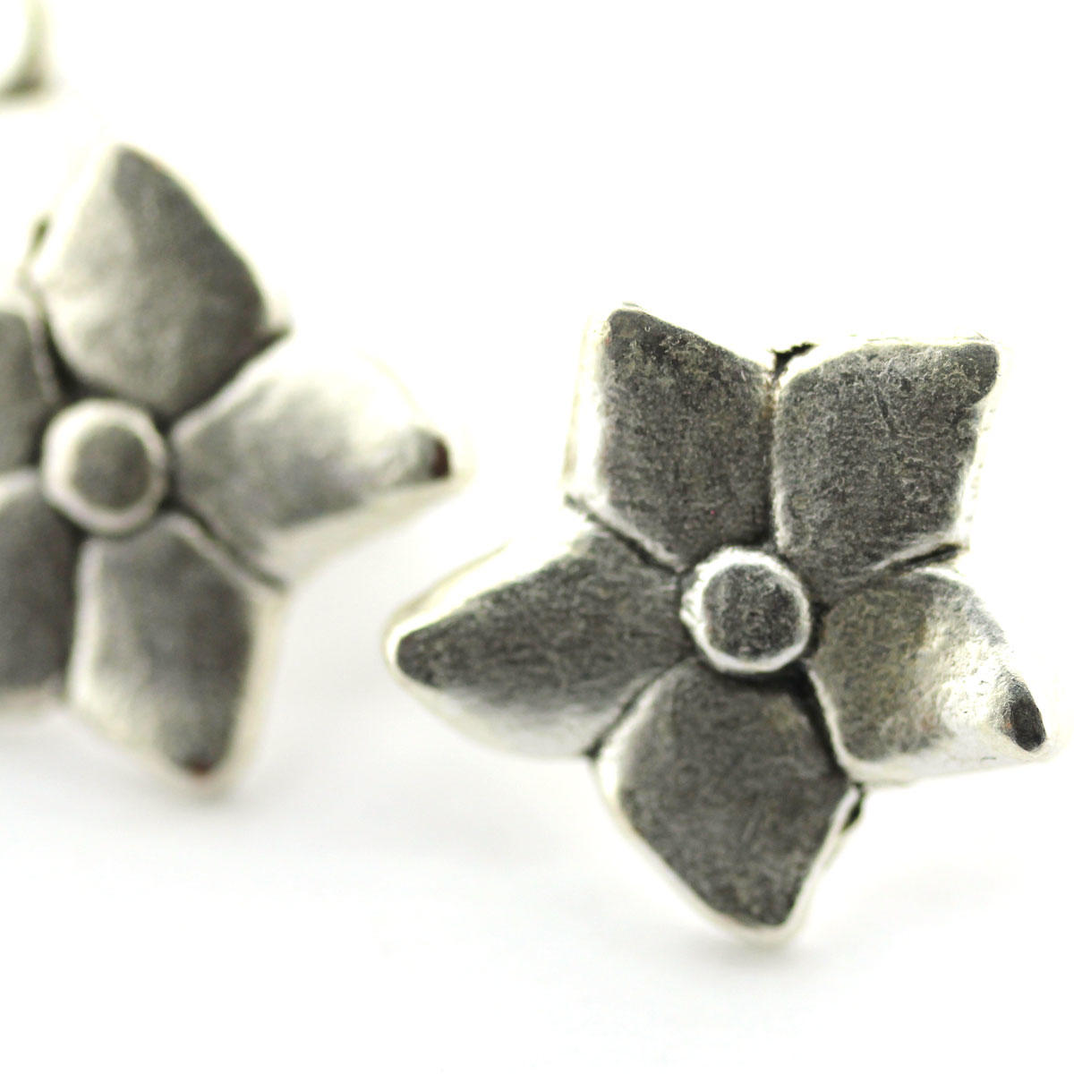 Daisy Charm for Square Leather