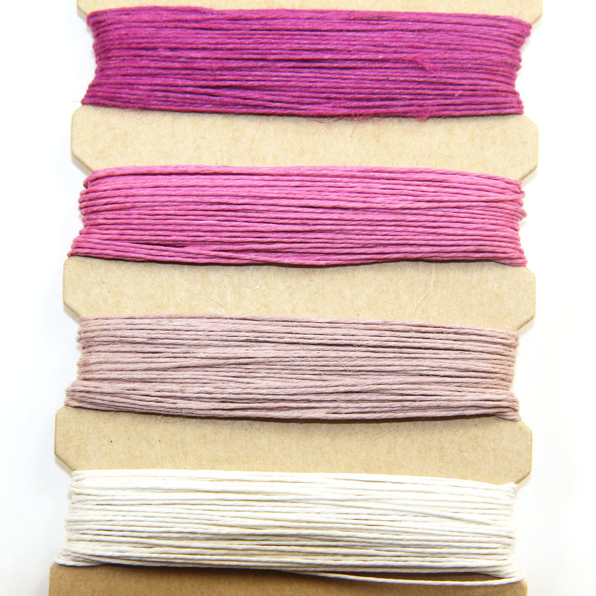 Hemp Cords - Ruby Colours