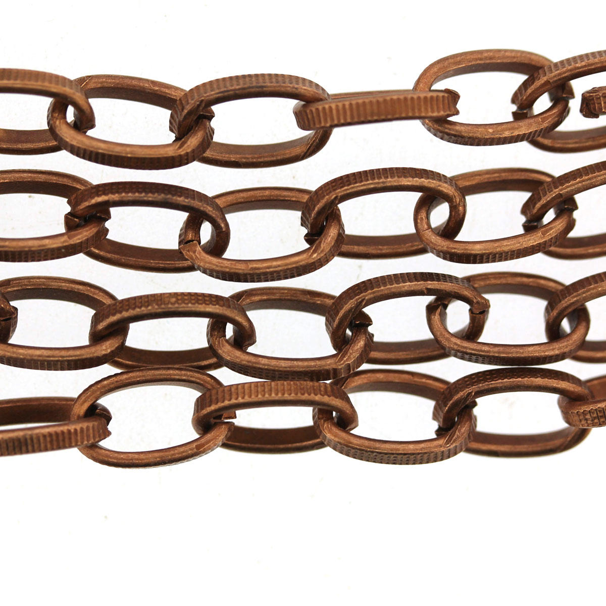 Oval Steel Strong Patterned Chain