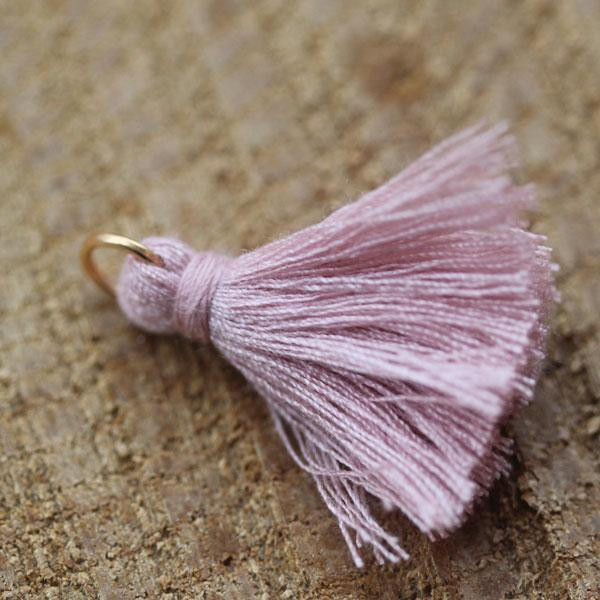Light Pink cotton Tassel