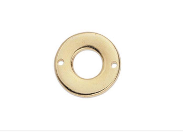 Gold Circle Connector component