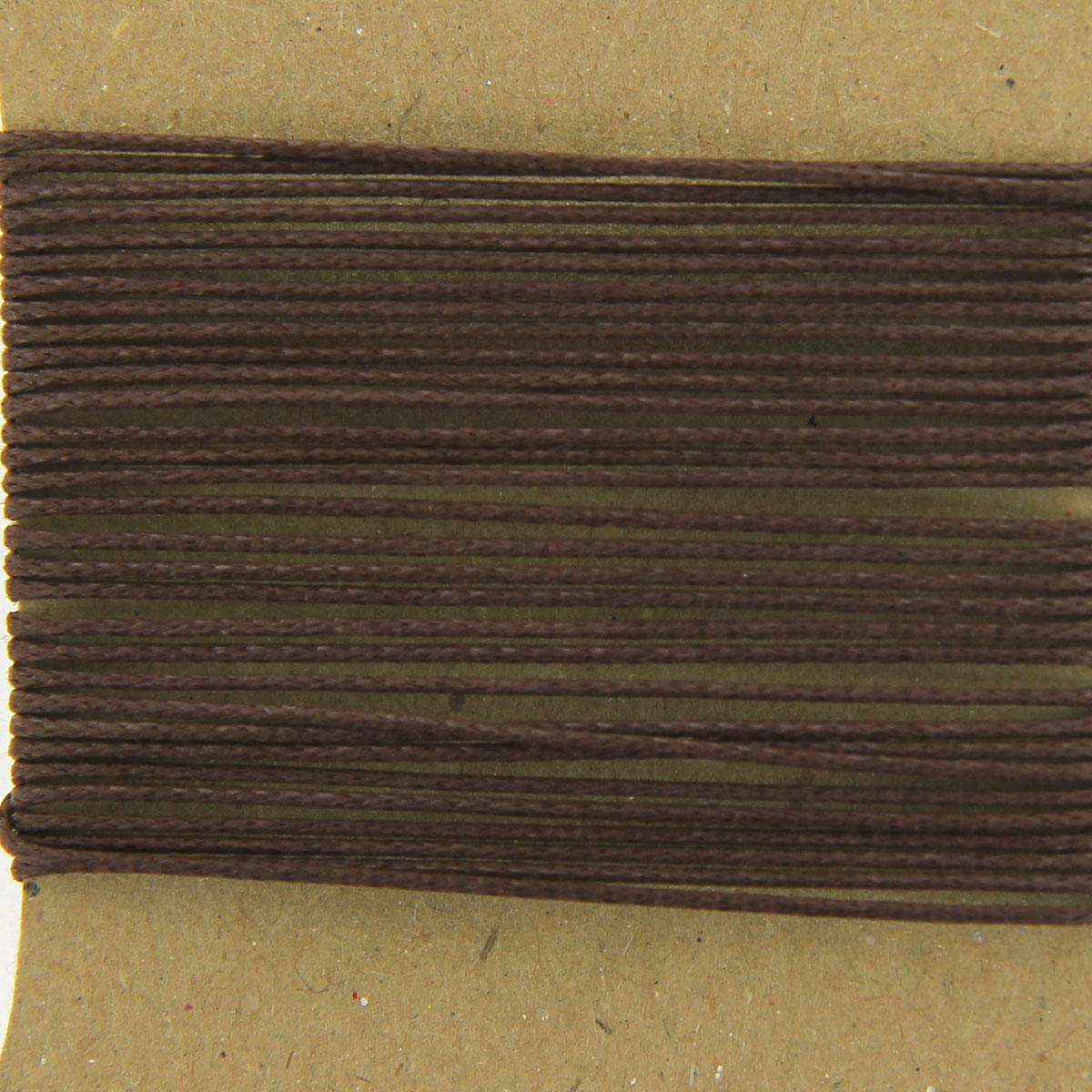 Brown thick 1.3mm Cotton Bead Cord