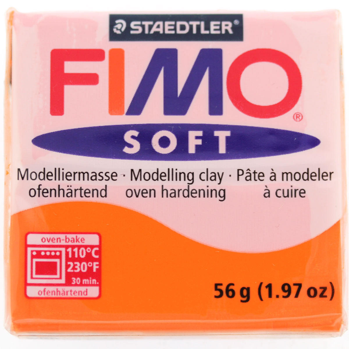 Polymer Clay Fimo Soft / Tangerine