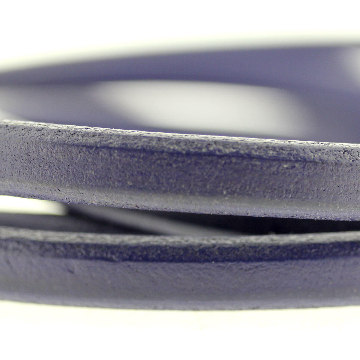 Purple Square Bracelet Leather