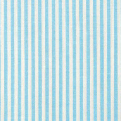 Blue Stripe Cotton Fabric Rectangle
