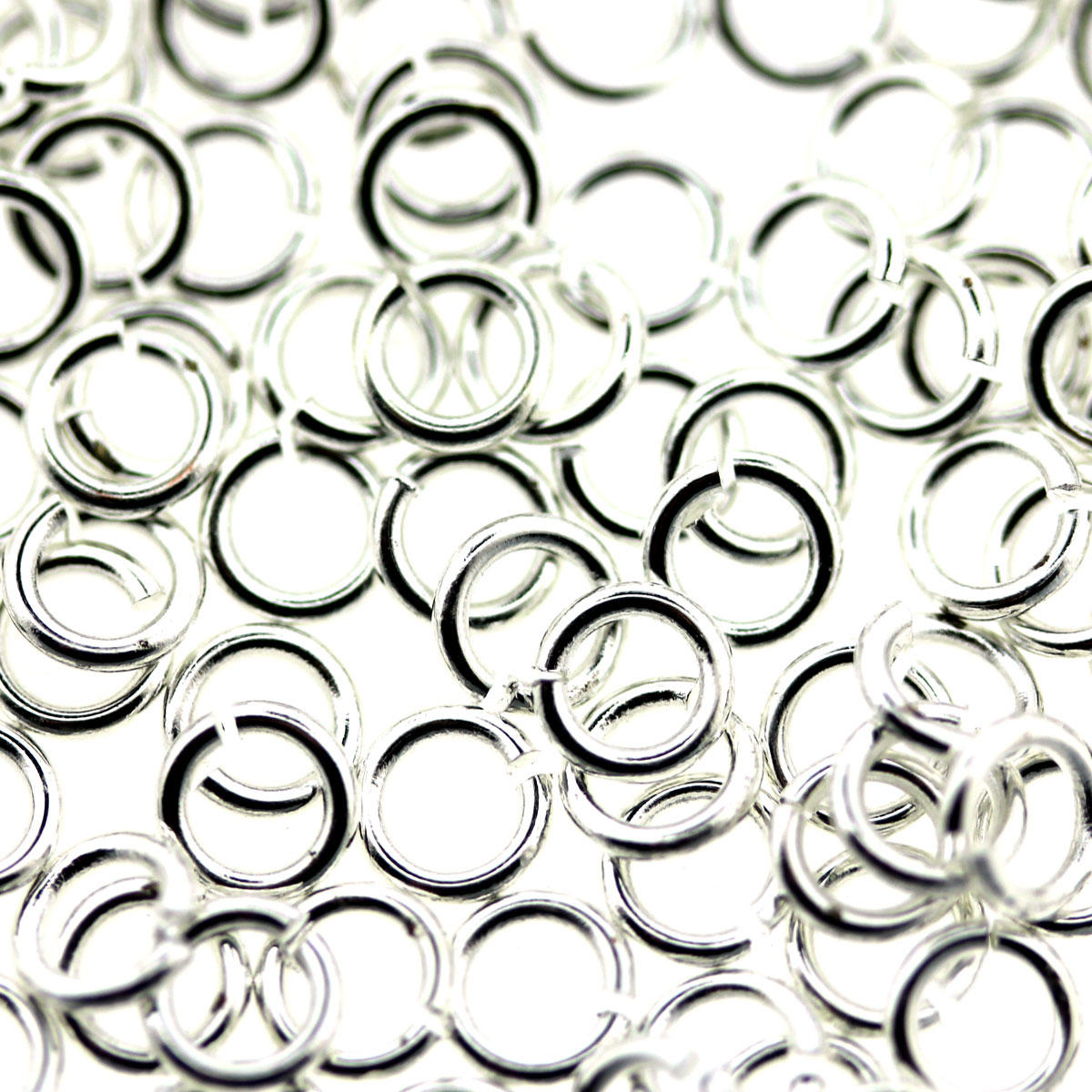 Silver Small Tiny Jump-Ring