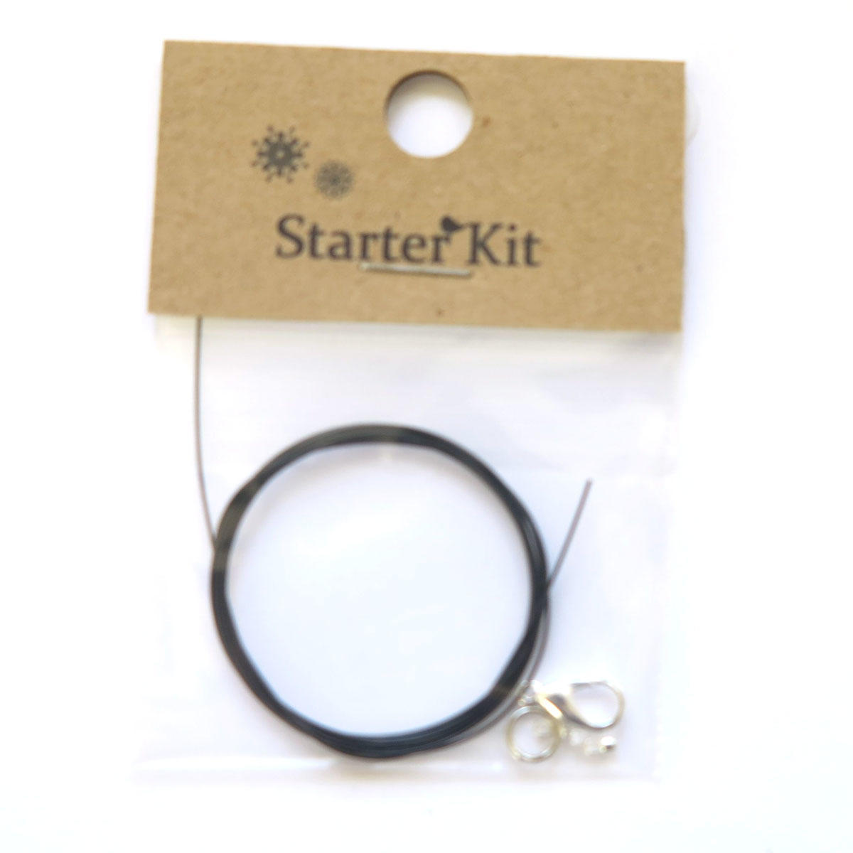 Black Necklace Kit or Mending Kit