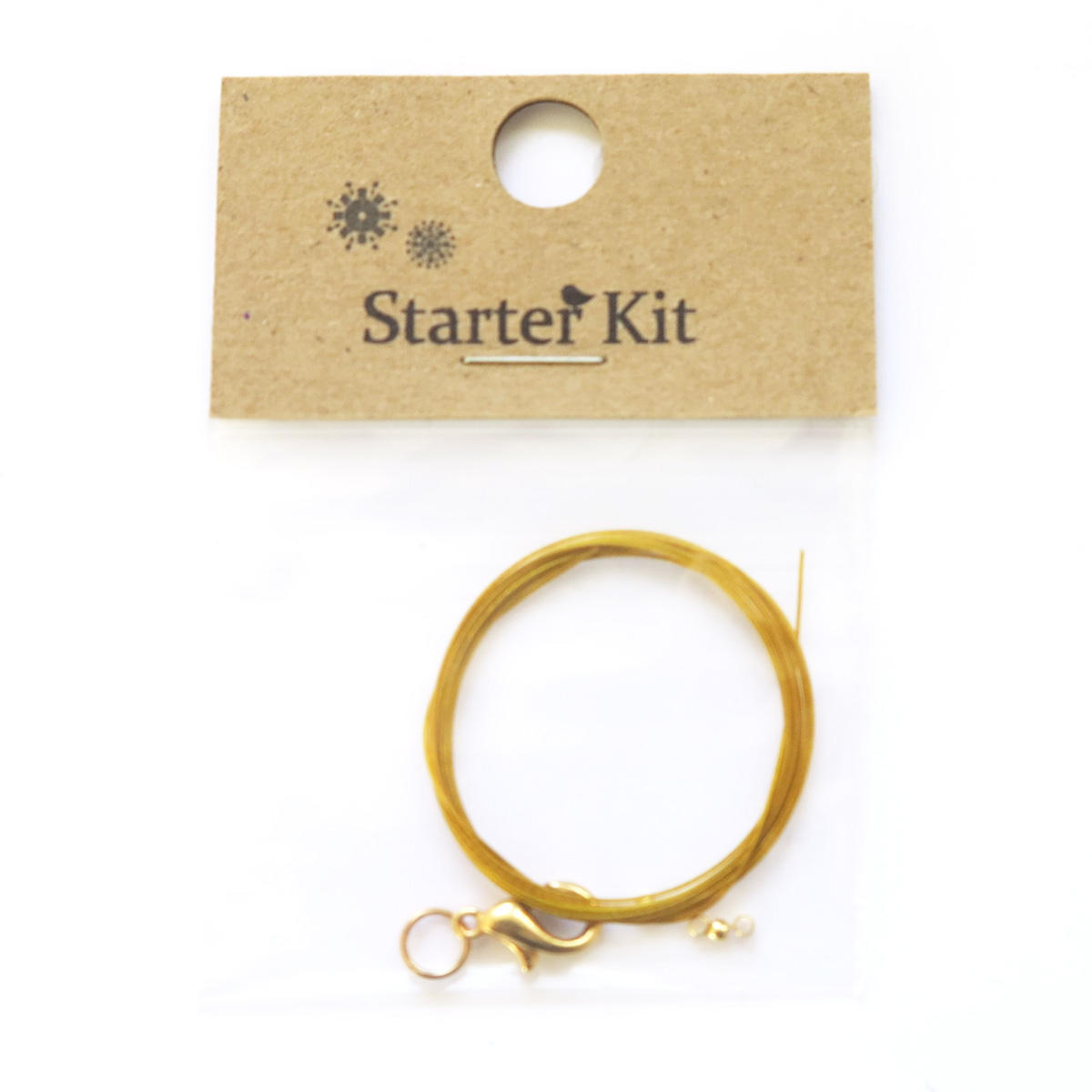 Gold Necklace Starter Kit or Mending Kit