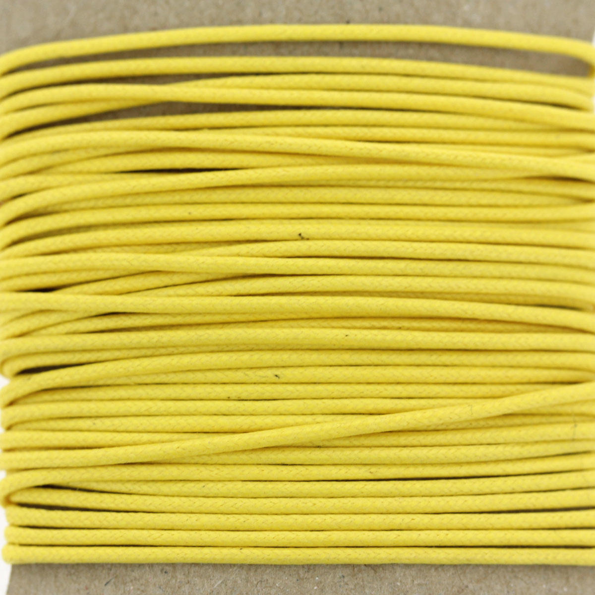 Yellow 1.3mm Bead Jewellery Cord