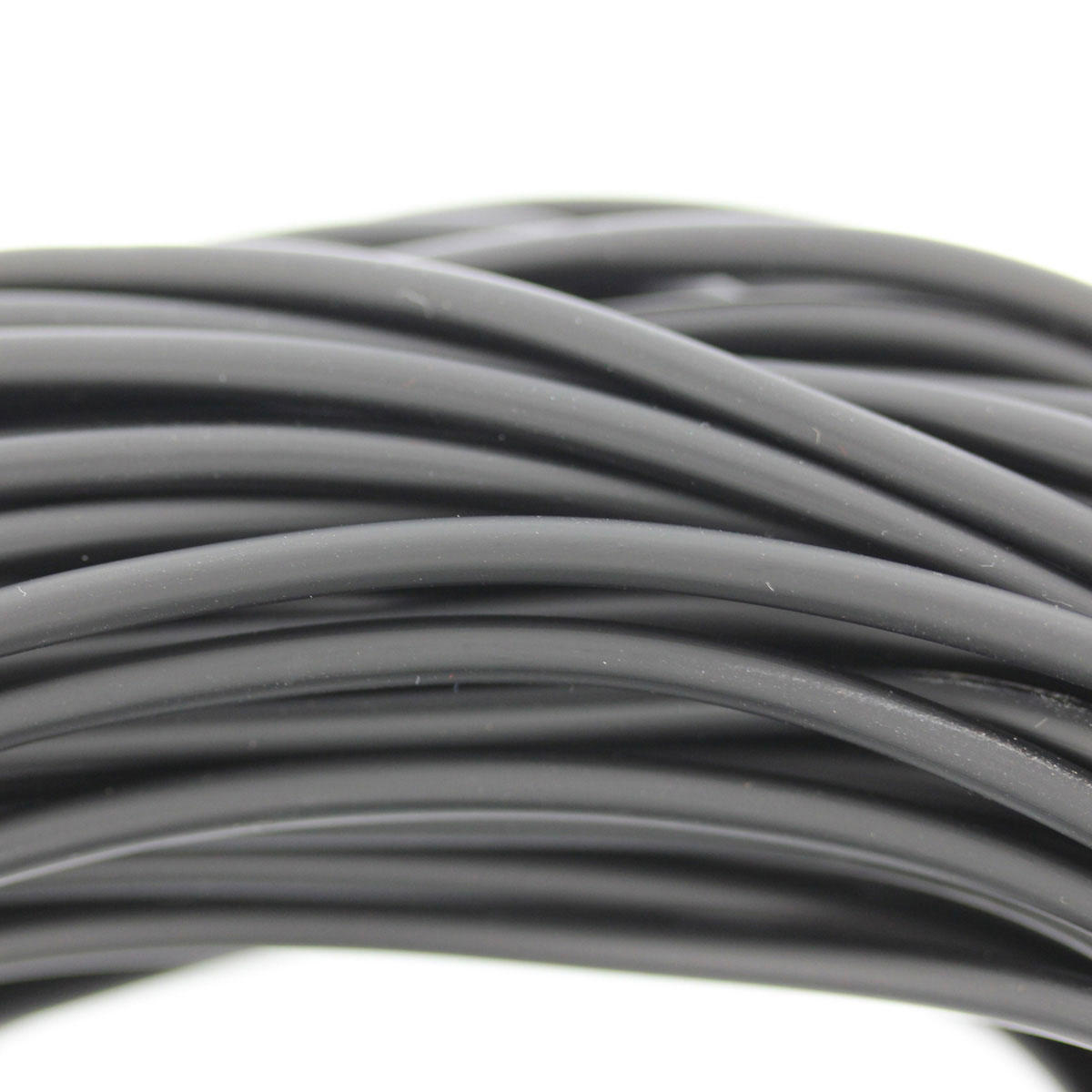 Black 3mm Fun PVC Cord