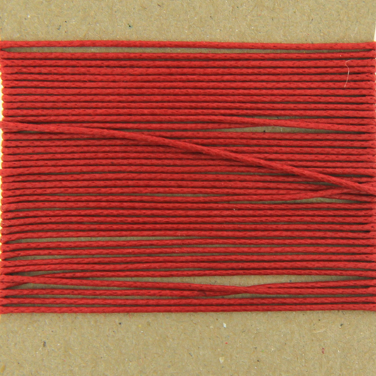 Red 0.7mm thin Cotton Bead Cord
