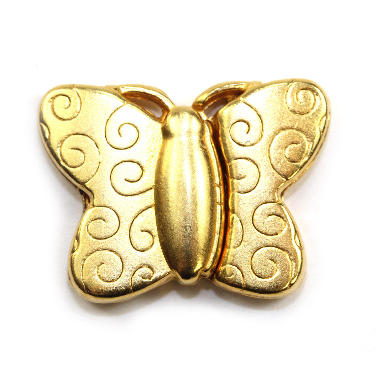 Gold Magnetic Butterfly Clasp
