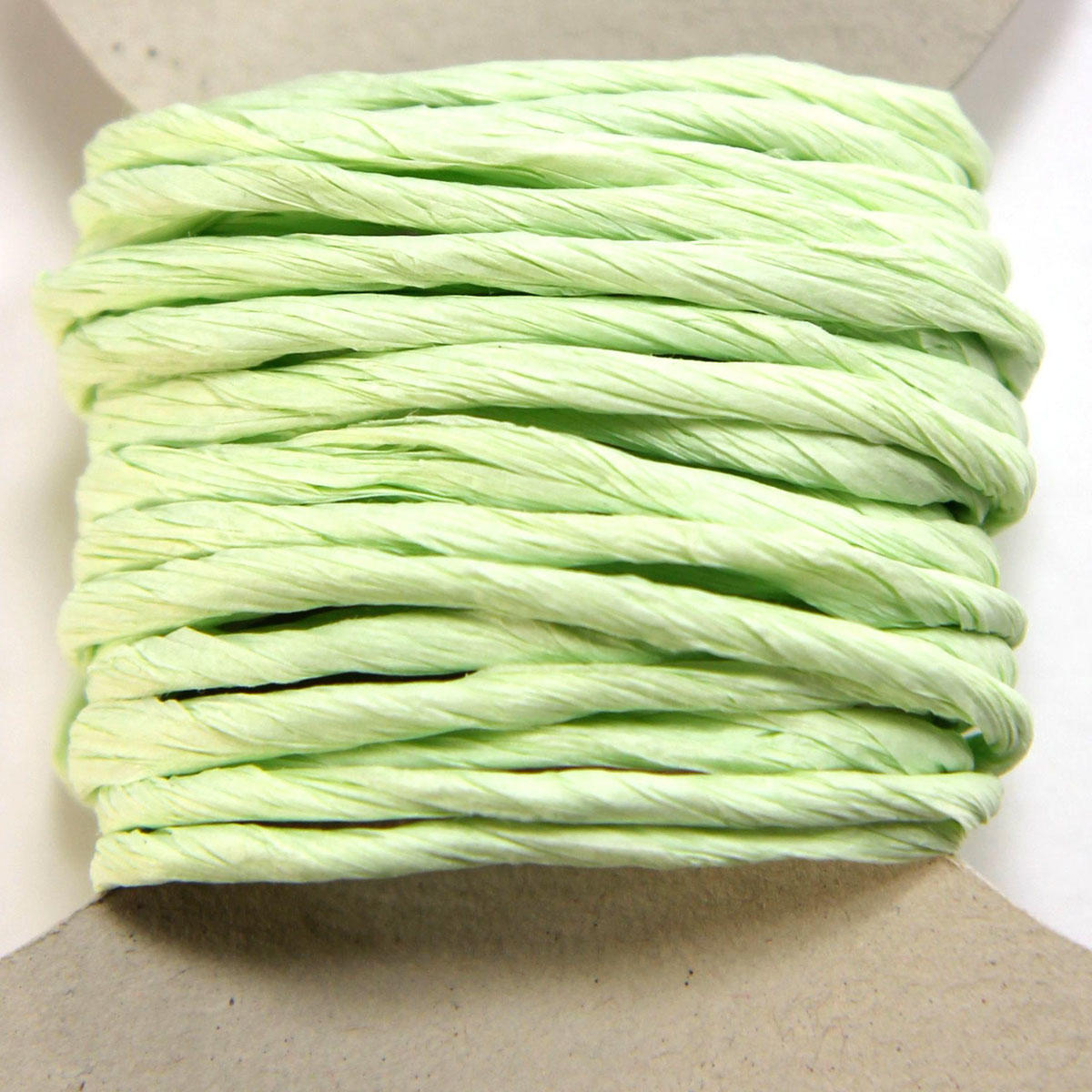Green Thick Paper String Bobbin