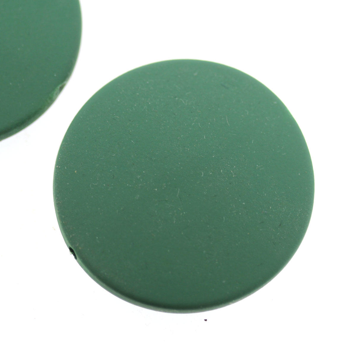 Jade Round Large disc Bead