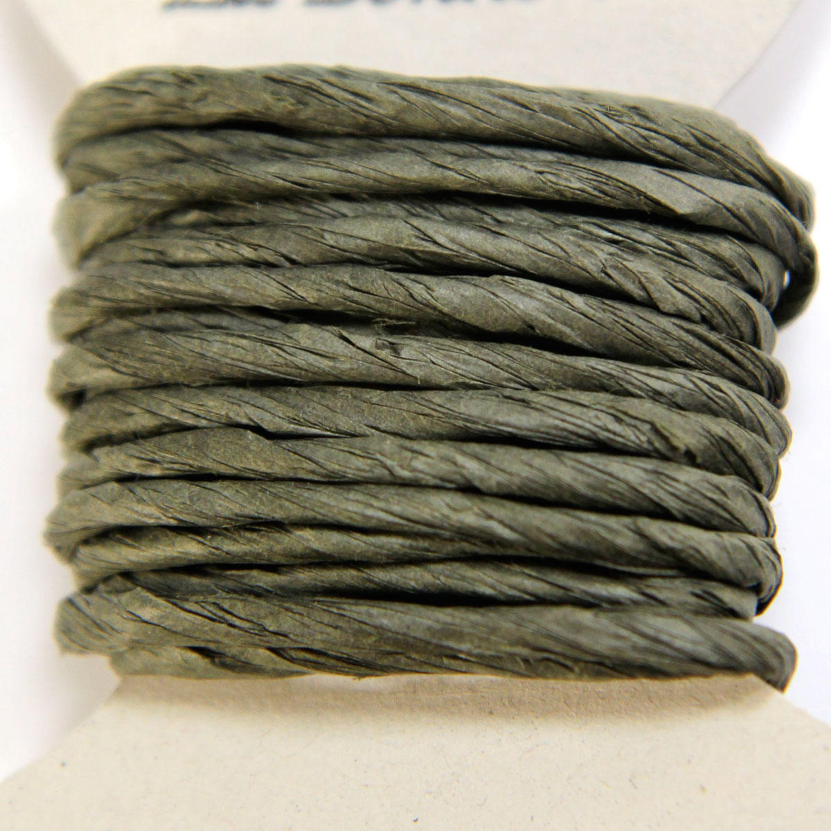 Moss Green Thick Paper String