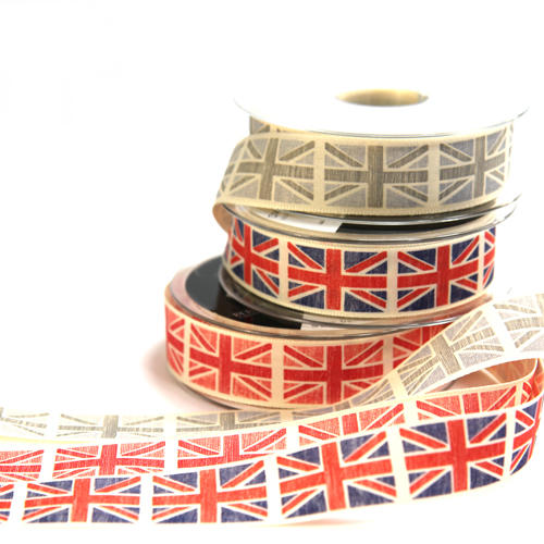 Vintage Flag Ribbon from Berisfords