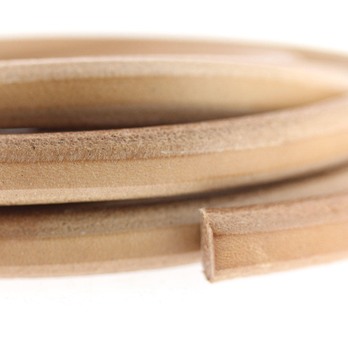 Natural Square Leather for Bracelets