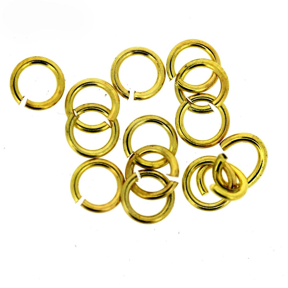 Gold Tiny 4mm Jump-Ring