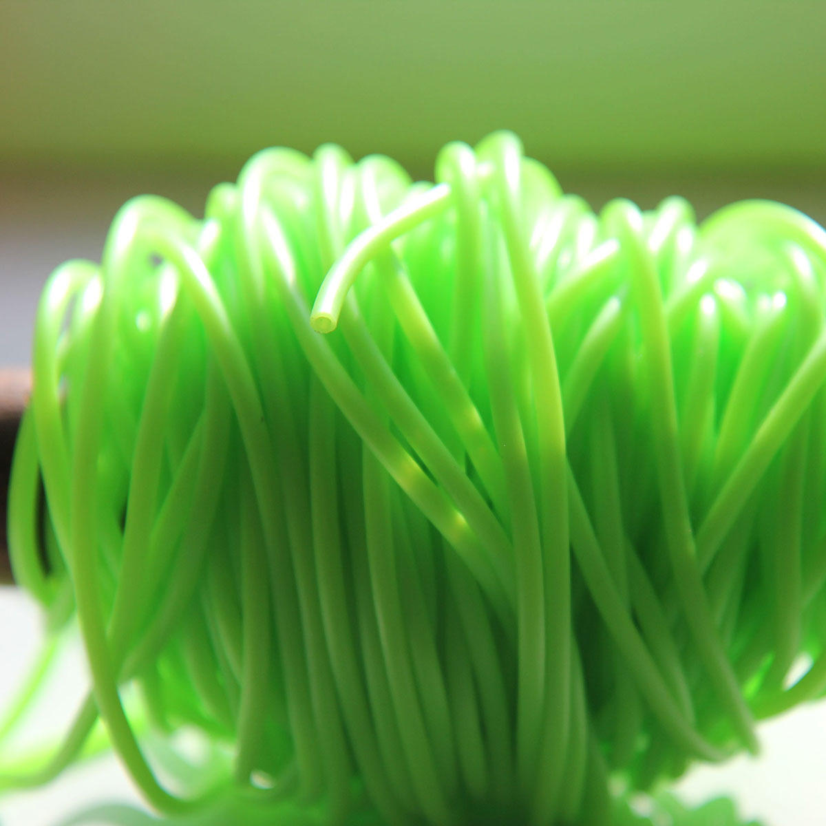 Florescent Green Fun PVC Tubing