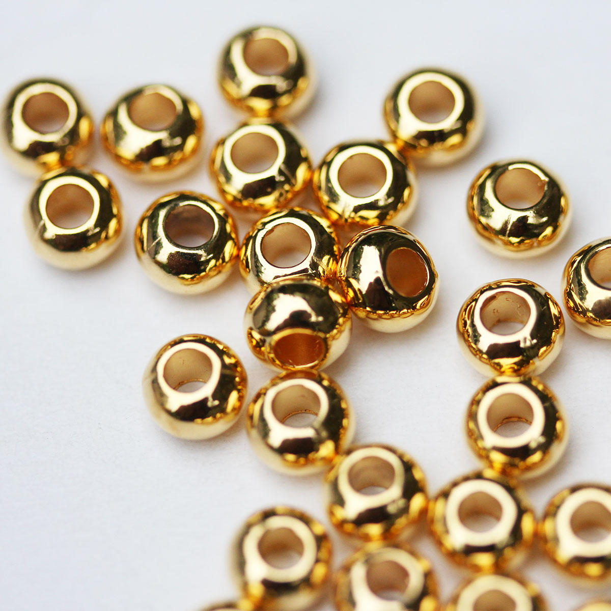 Gold Essential Metal Ball Beads