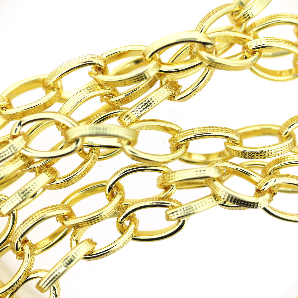 Gold Patterned Chain