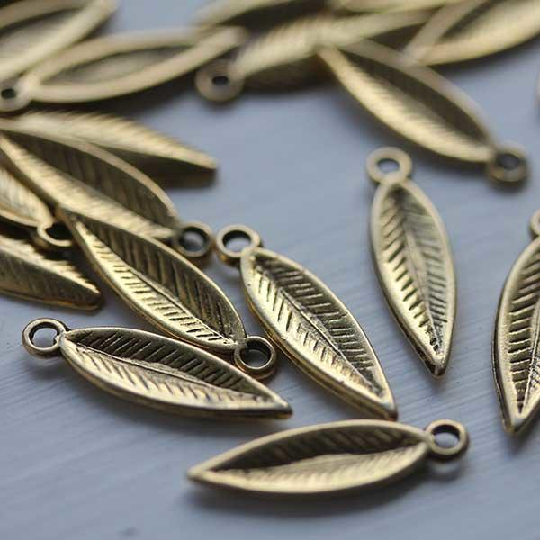 Long Leaves in Gold